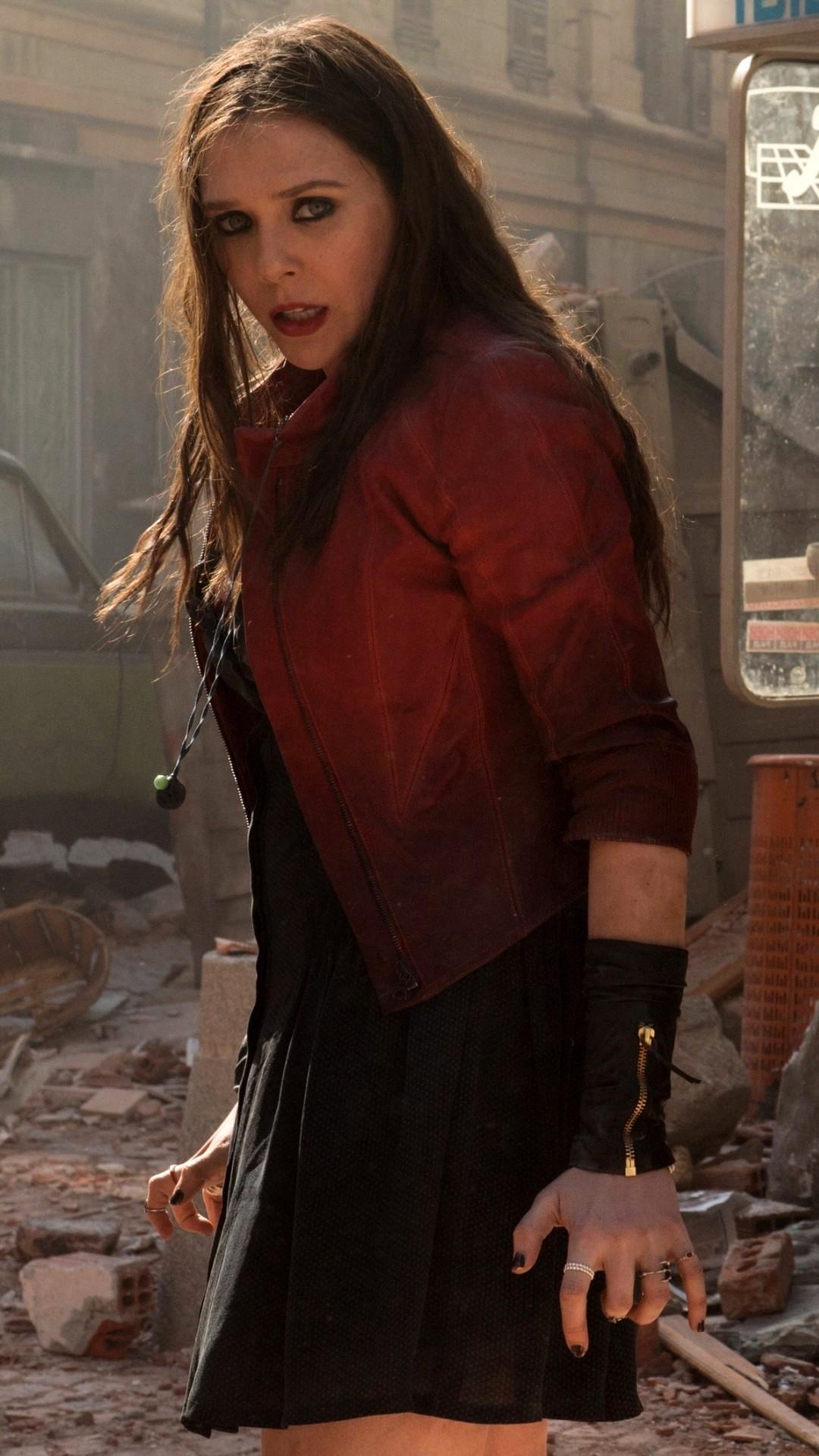 Elizabeth Olsen As Scarlet Witch Wallpapers 1080x1920 437256