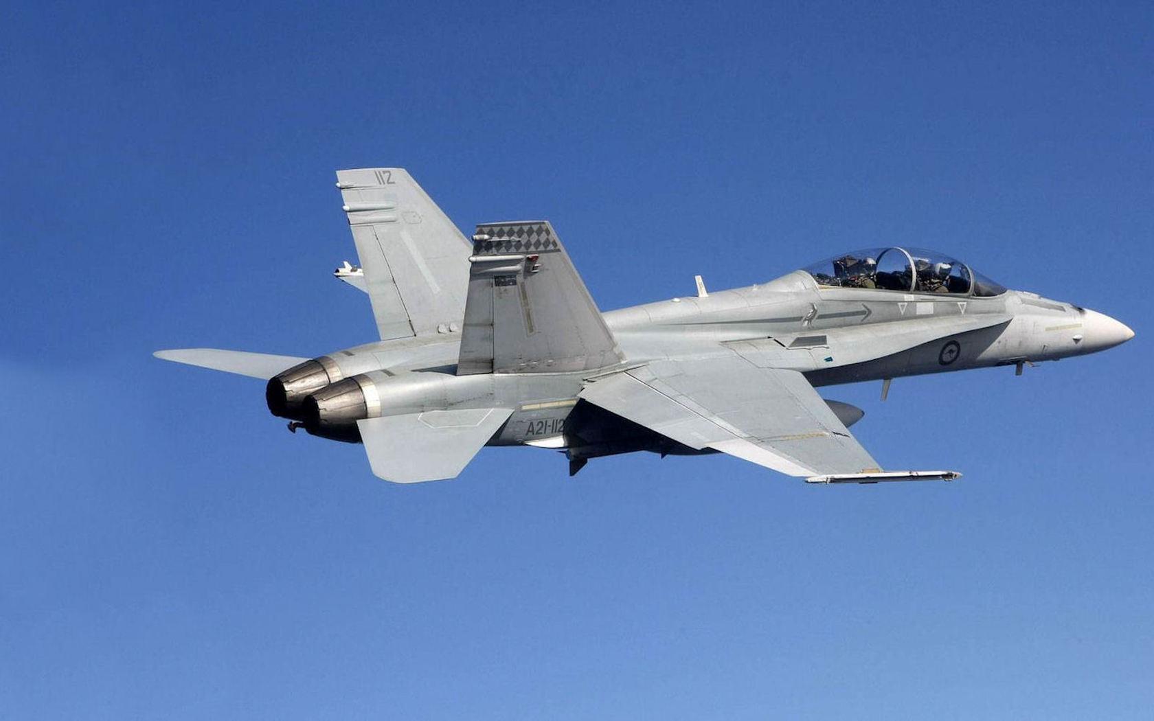 fa 18 super hornet fighter bomber wallpapers - 1680x1050 - 114902
