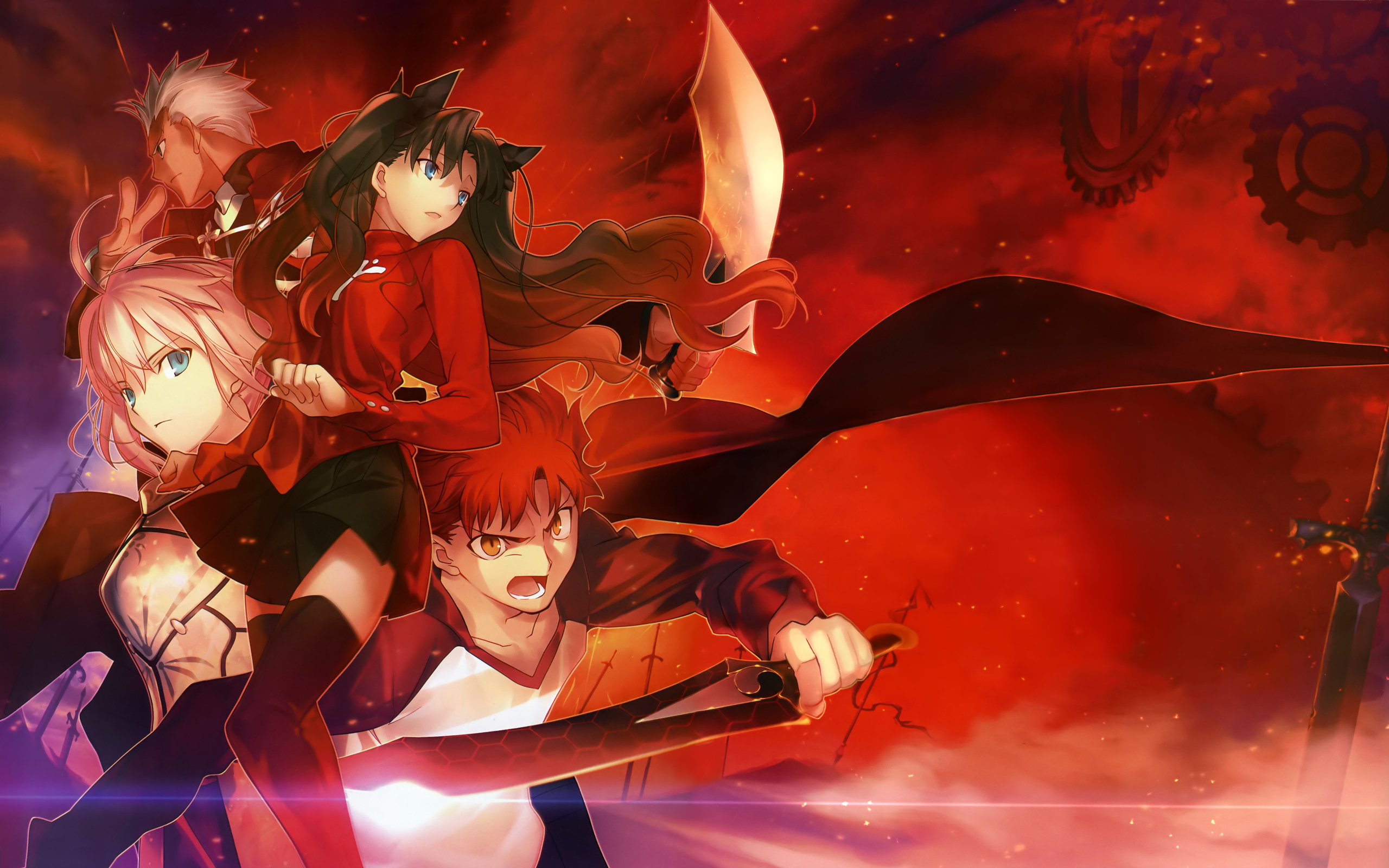 Fate Stay Night Anime Wallpapers - 2560x1600 - 1429590