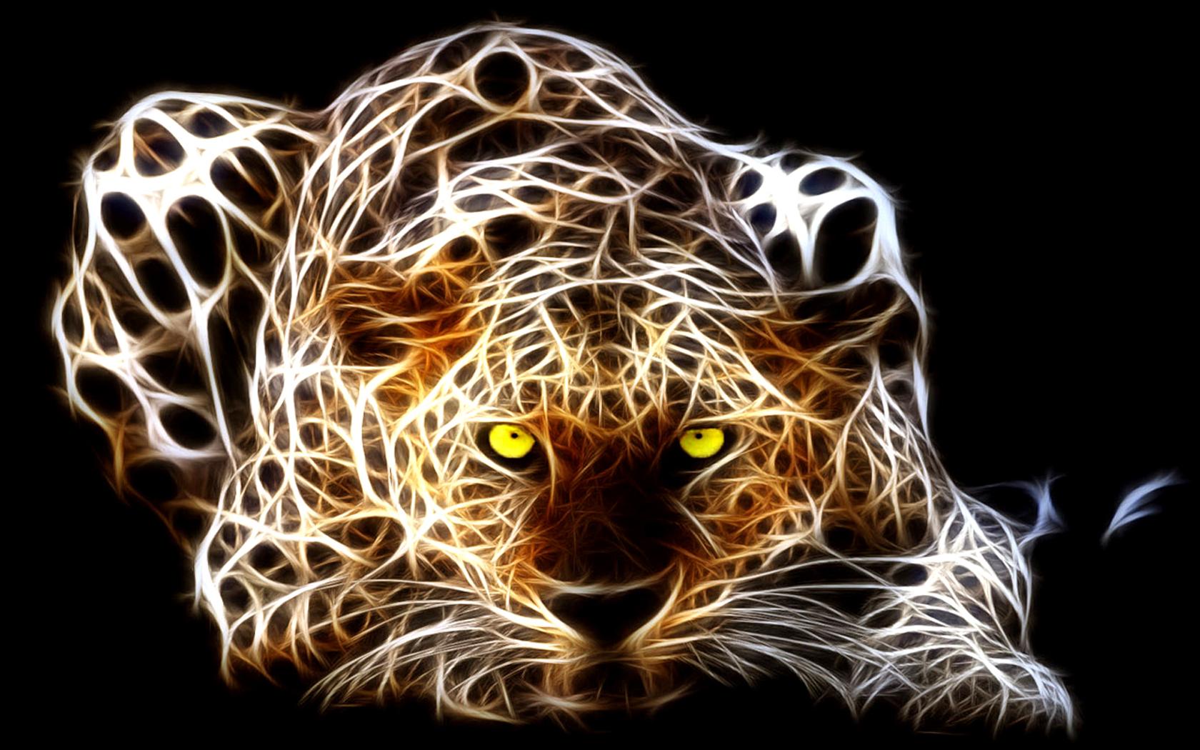 Animated Cheetah Wallpaper fractal cheetah wallpapers