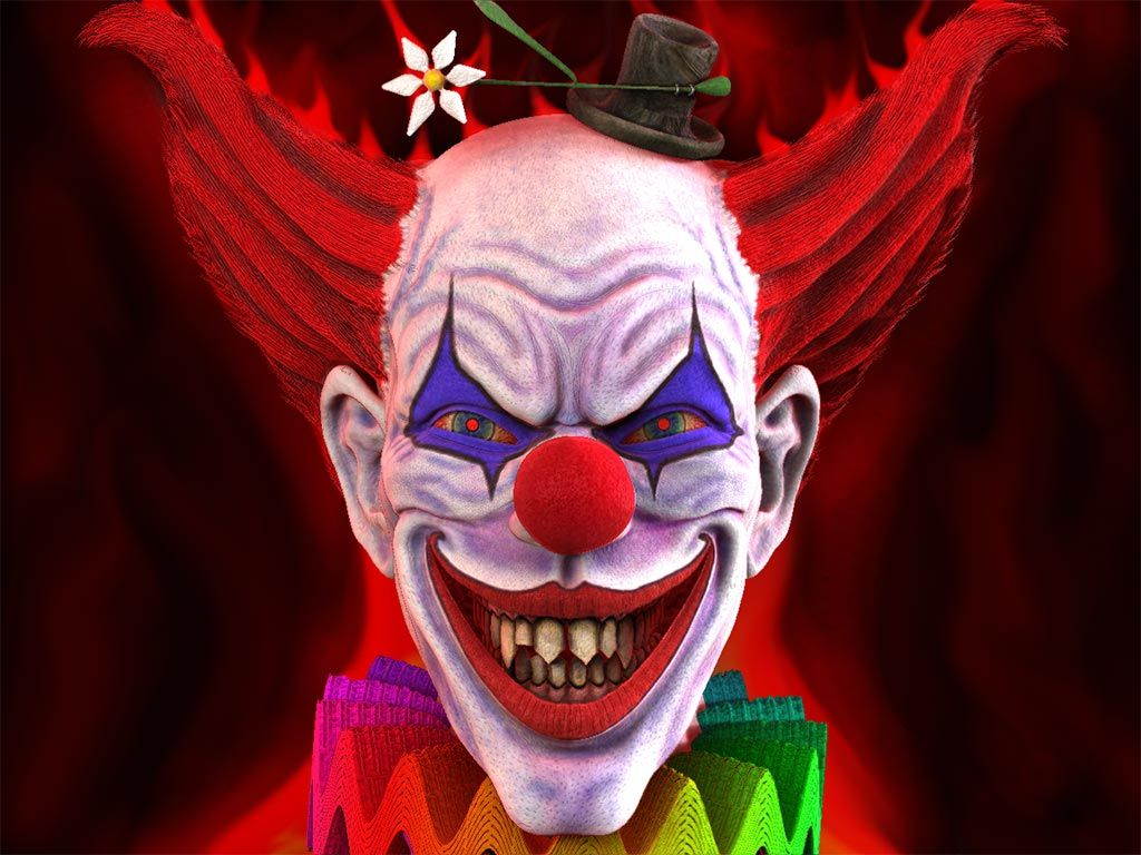 Funny Scary Clown | 1024 x 768 | Download | Close