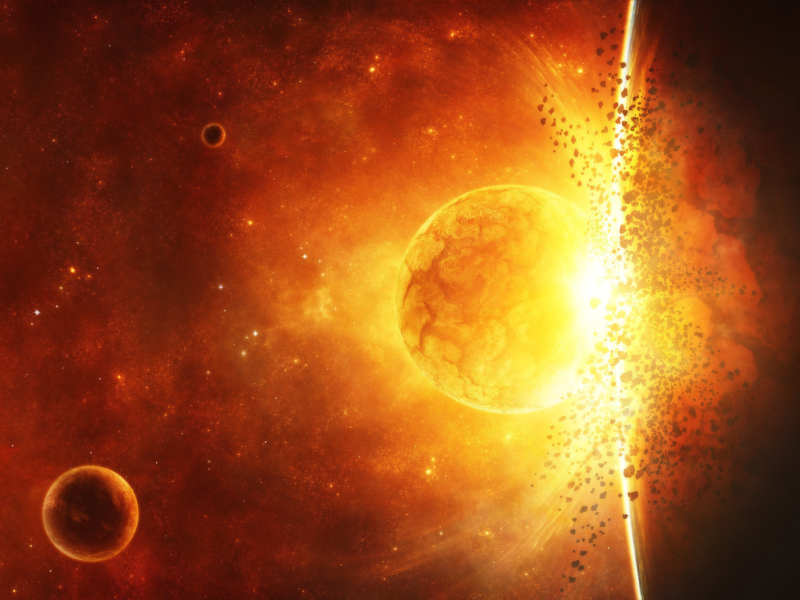 exploding planets wallpapersfor laptops - photo #33