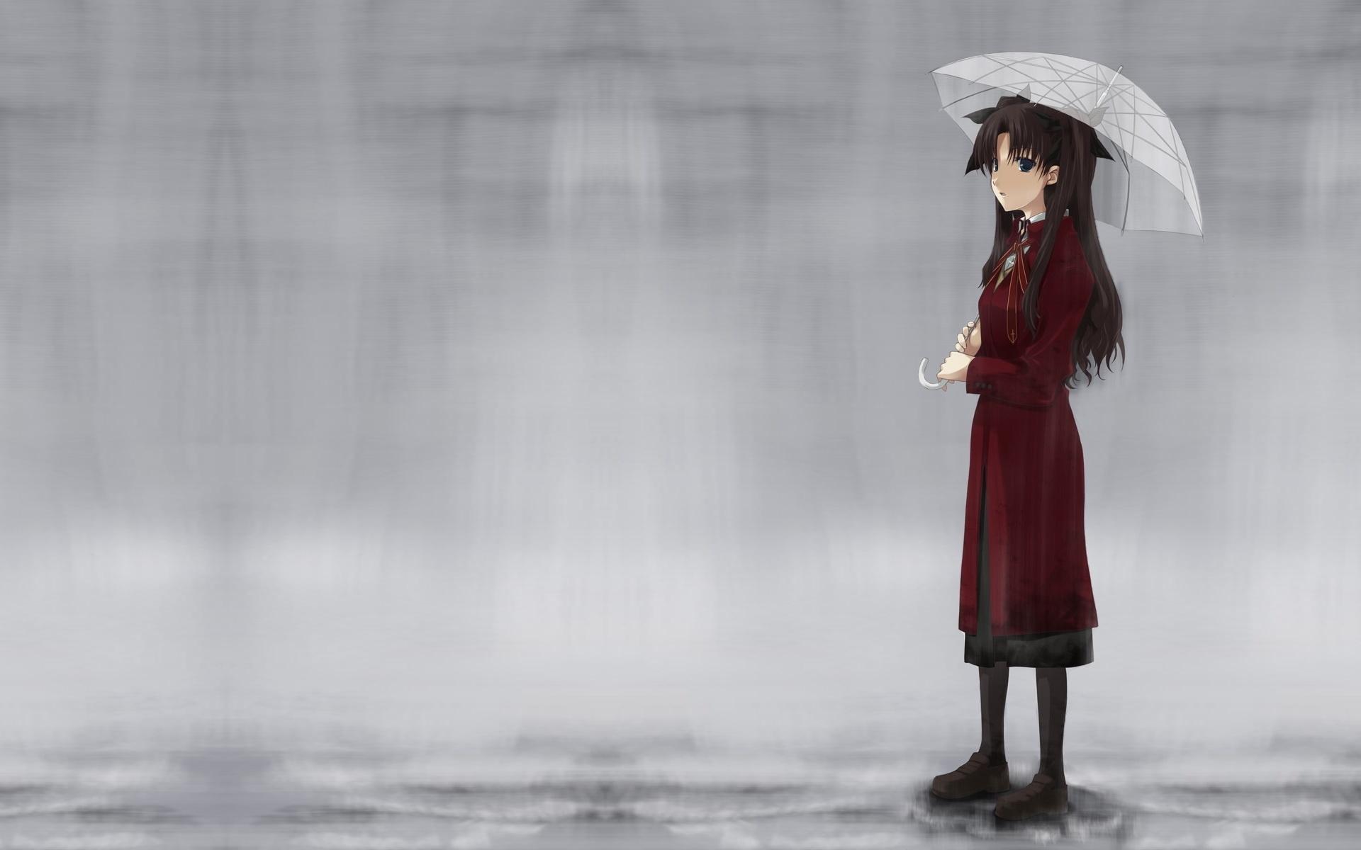 Girl Walking In Rain Wallpapers 1920x1200 463734