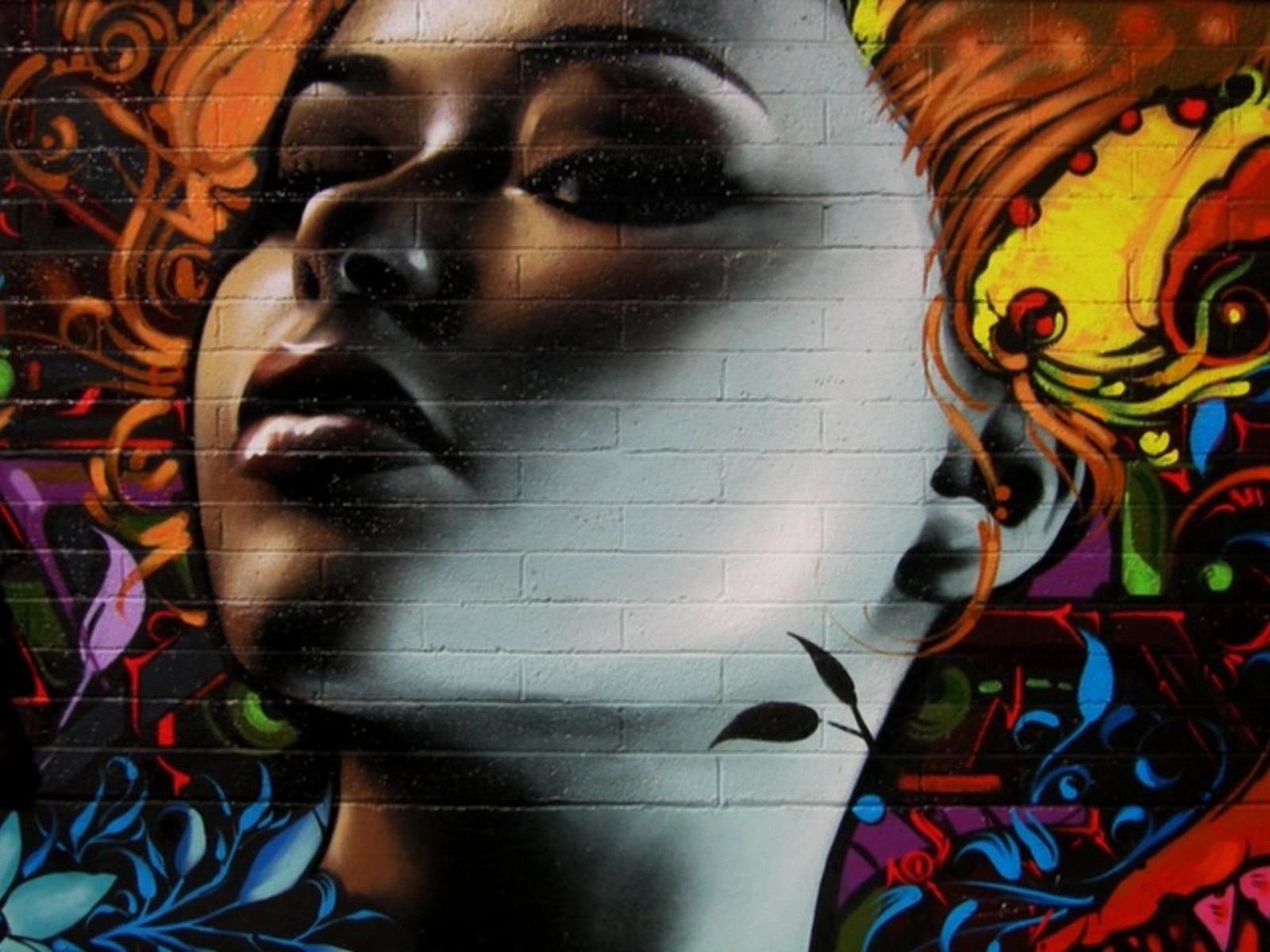 Graffiti Girl Wallpapers 1600x1200 376133