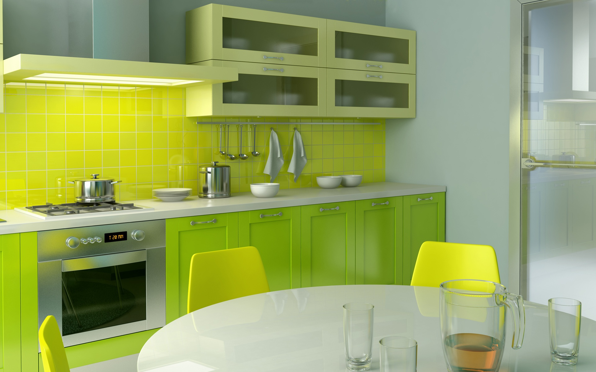 Impressive Green Kitchen Design | 1920 x 1200 | Download | Close 1920 x 1200 · 381 kB · jpeg