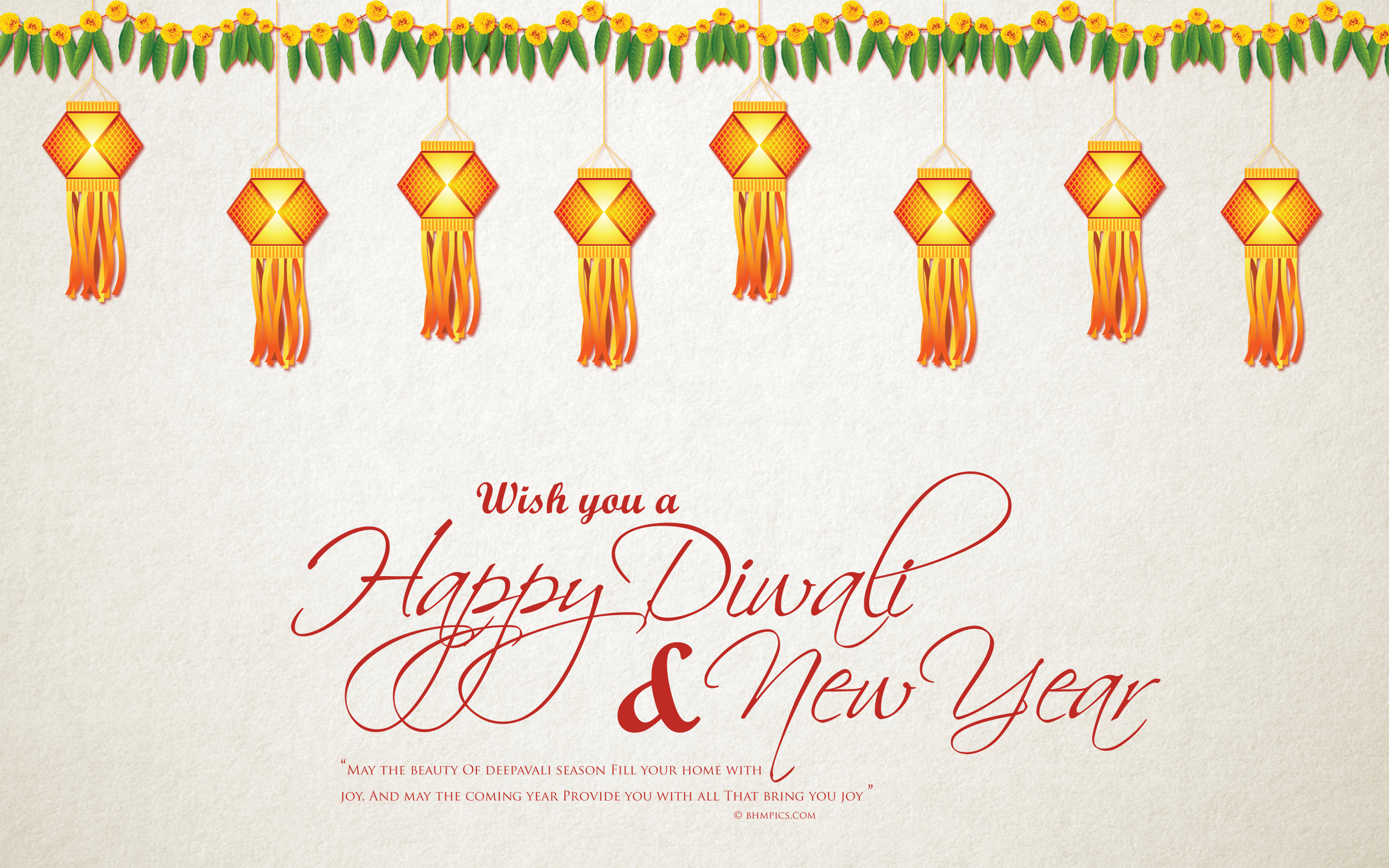 happy diwali and new year wide wallpapers