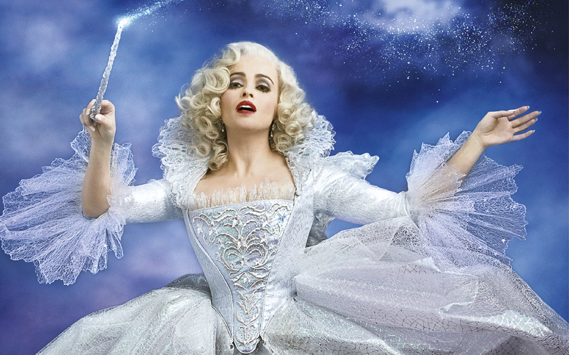 Helena Bonham Carter In Cinderella 2015 | 1920 x 1200 | Download ...