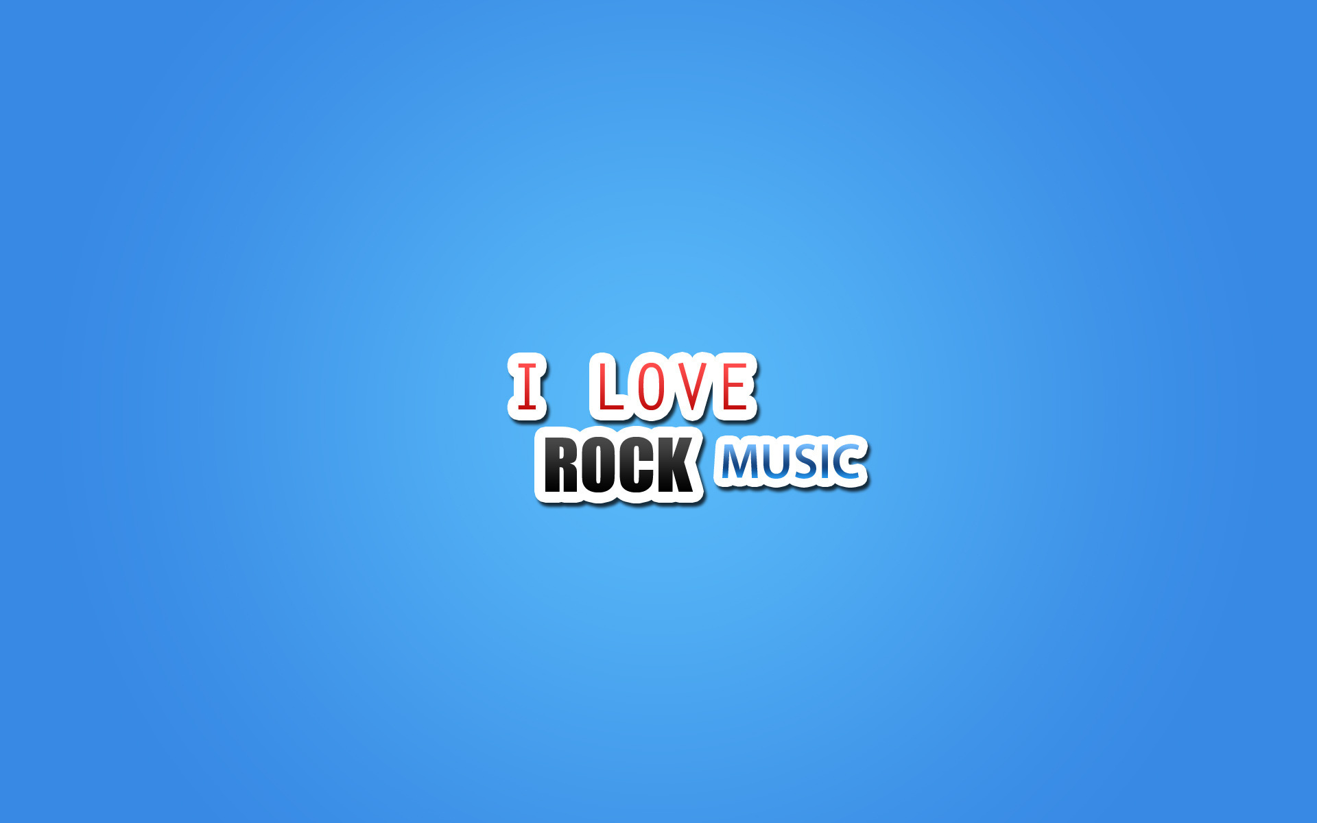 I Love Rock Music Wallpapers 1920x1200 139819