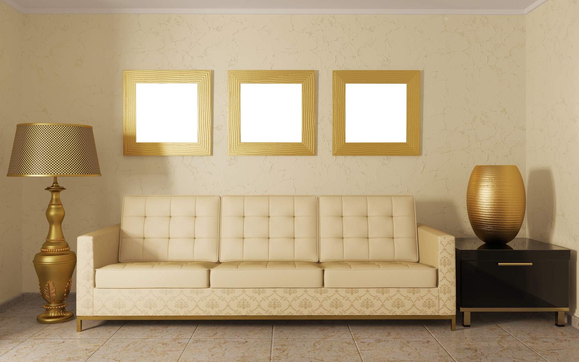 Interior Design Room Sofa And Pillows Wallpapers ...