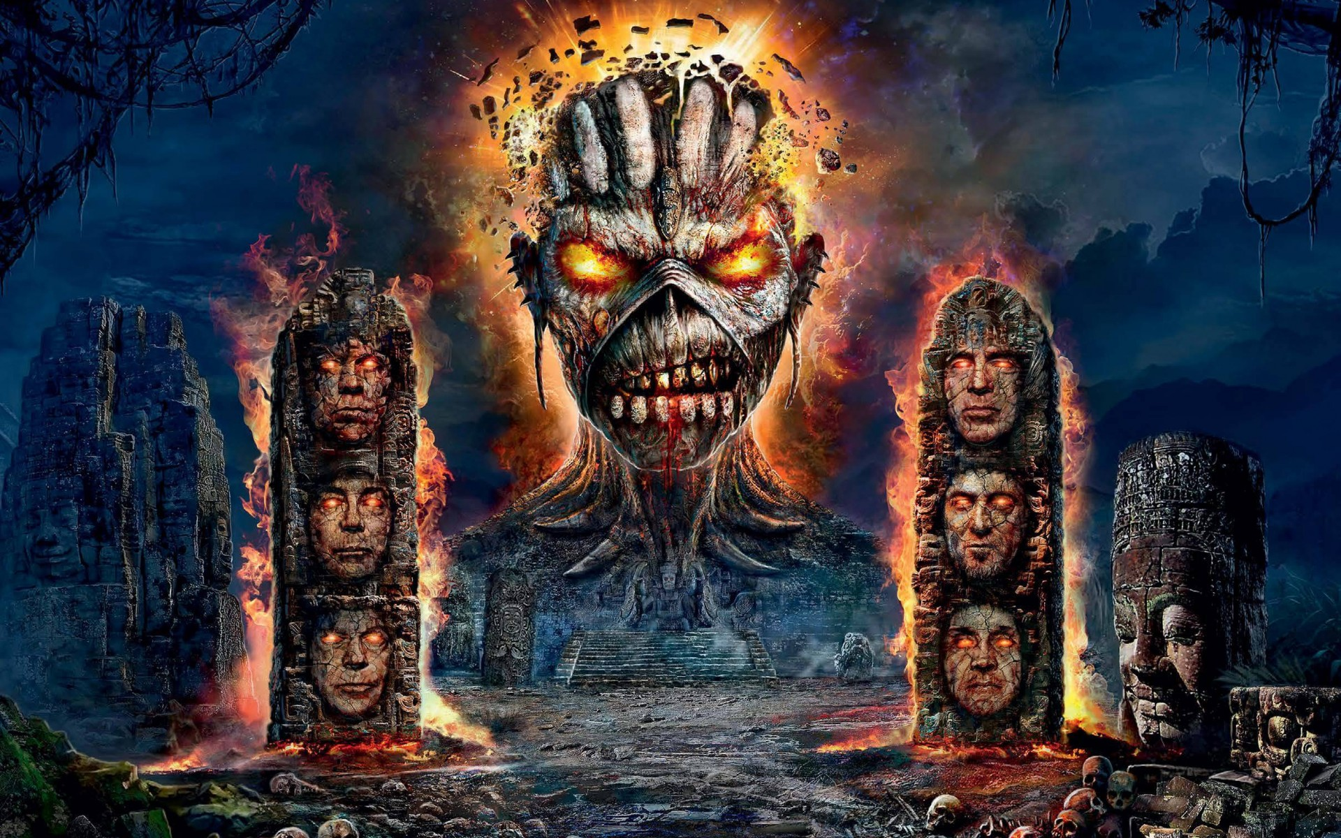 Iron Maiden English Heavy Metal Band Wallpapers 1920x1200