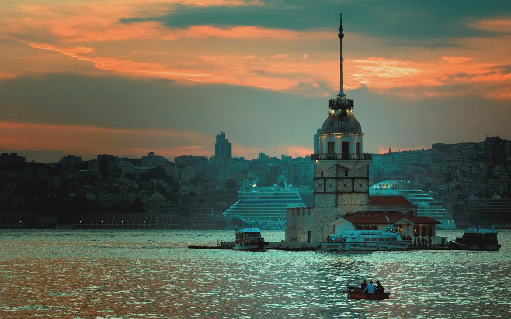 Istanbul Bosphorus Wallpapers - 1680x1050 - 1839819