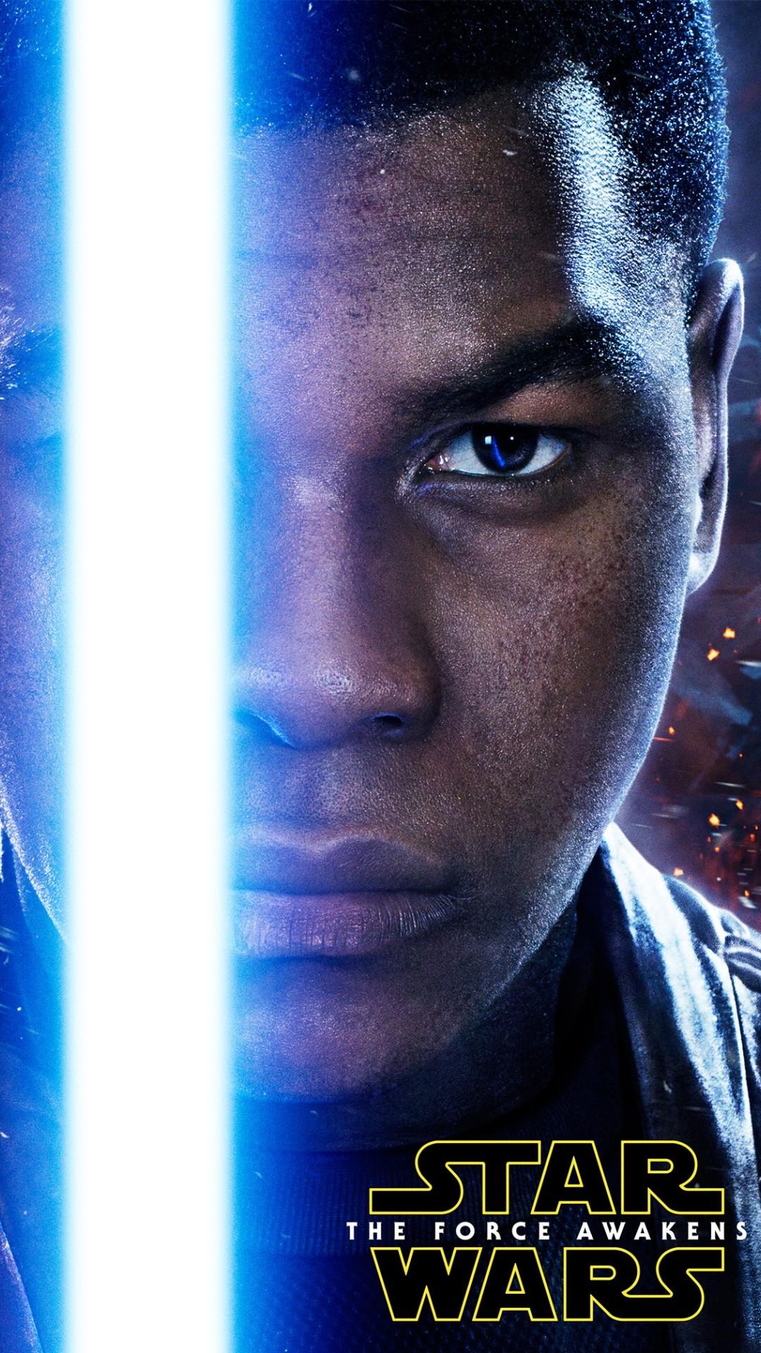John Boyega As Finn Star Wars 2015 Wallpapers 1080x1920 589838