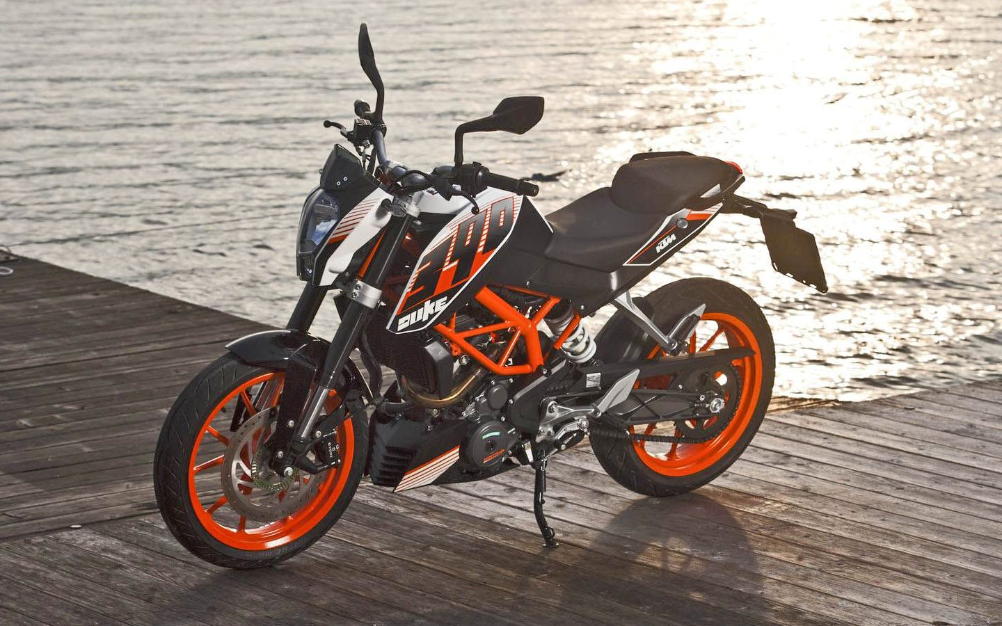 KTM 390 Duke 2014 Click To View