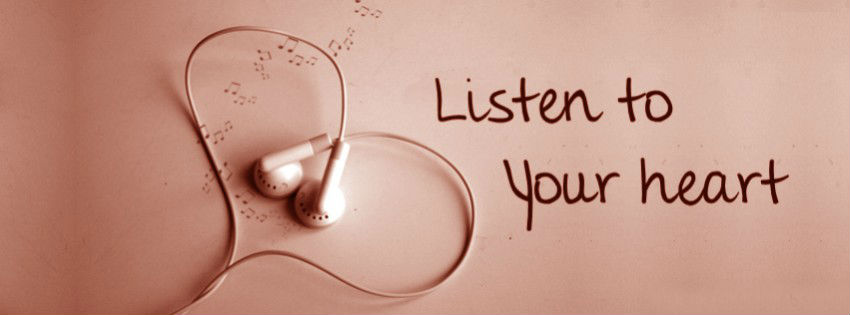 Listen To Your Heart Headphone