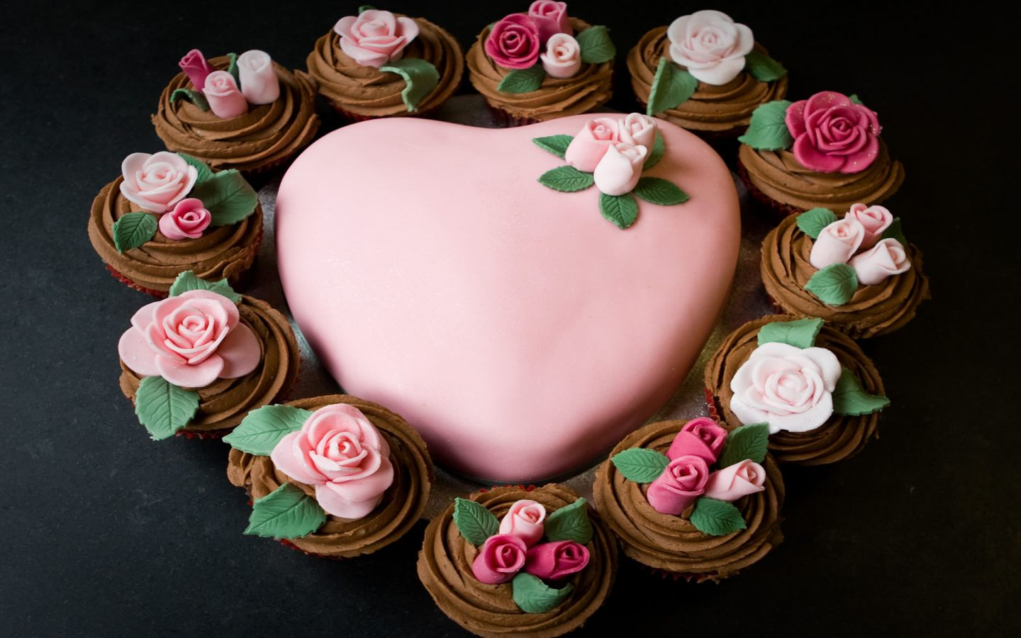 Images Of Cake Of Love : Love Heart Cake Wallpapers - 1440x900 - 151520