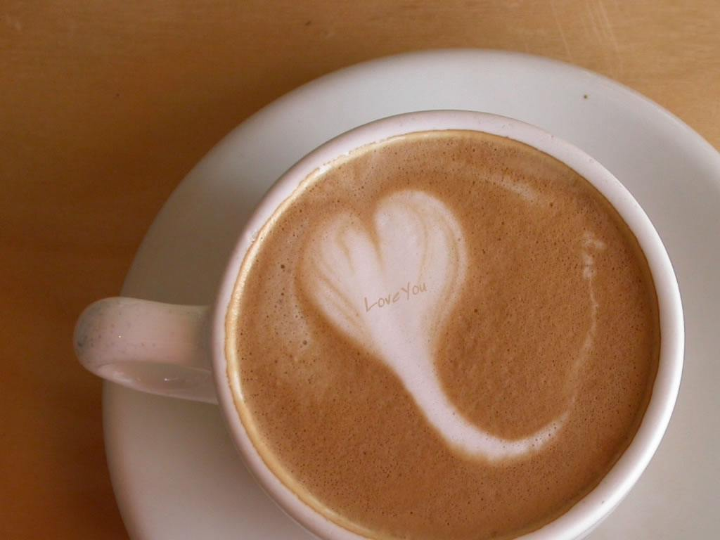 Love In Coffee Cup Wallpapers - 1024x768 - 54846