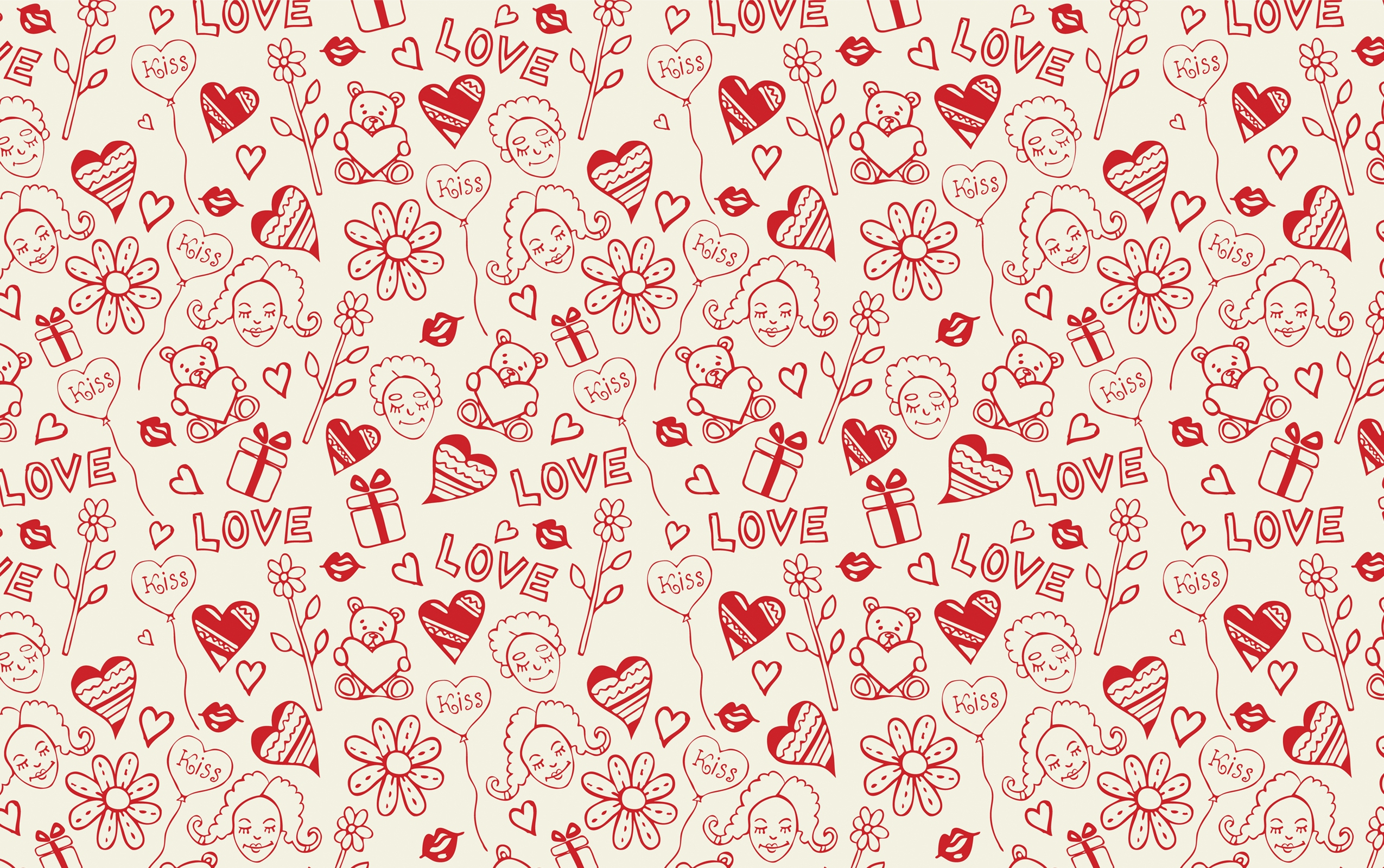 Love Wallpaper Vector : Love Vector Drawings Wallpapers - 2550x1600 - 2963649