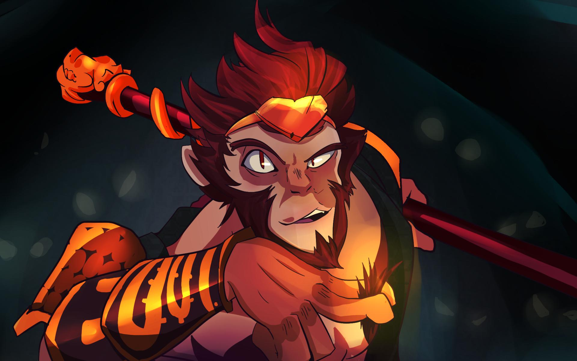 monkey king dota 2 hero wallpapers