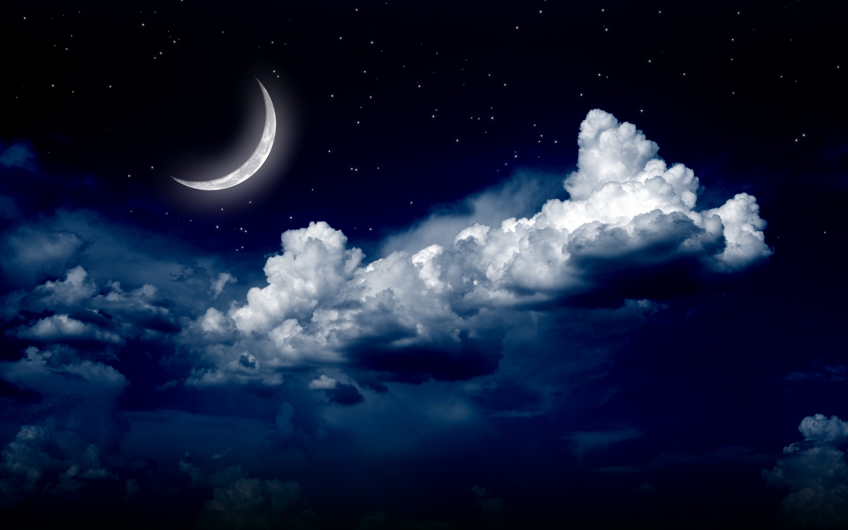Moonlight Night Sky