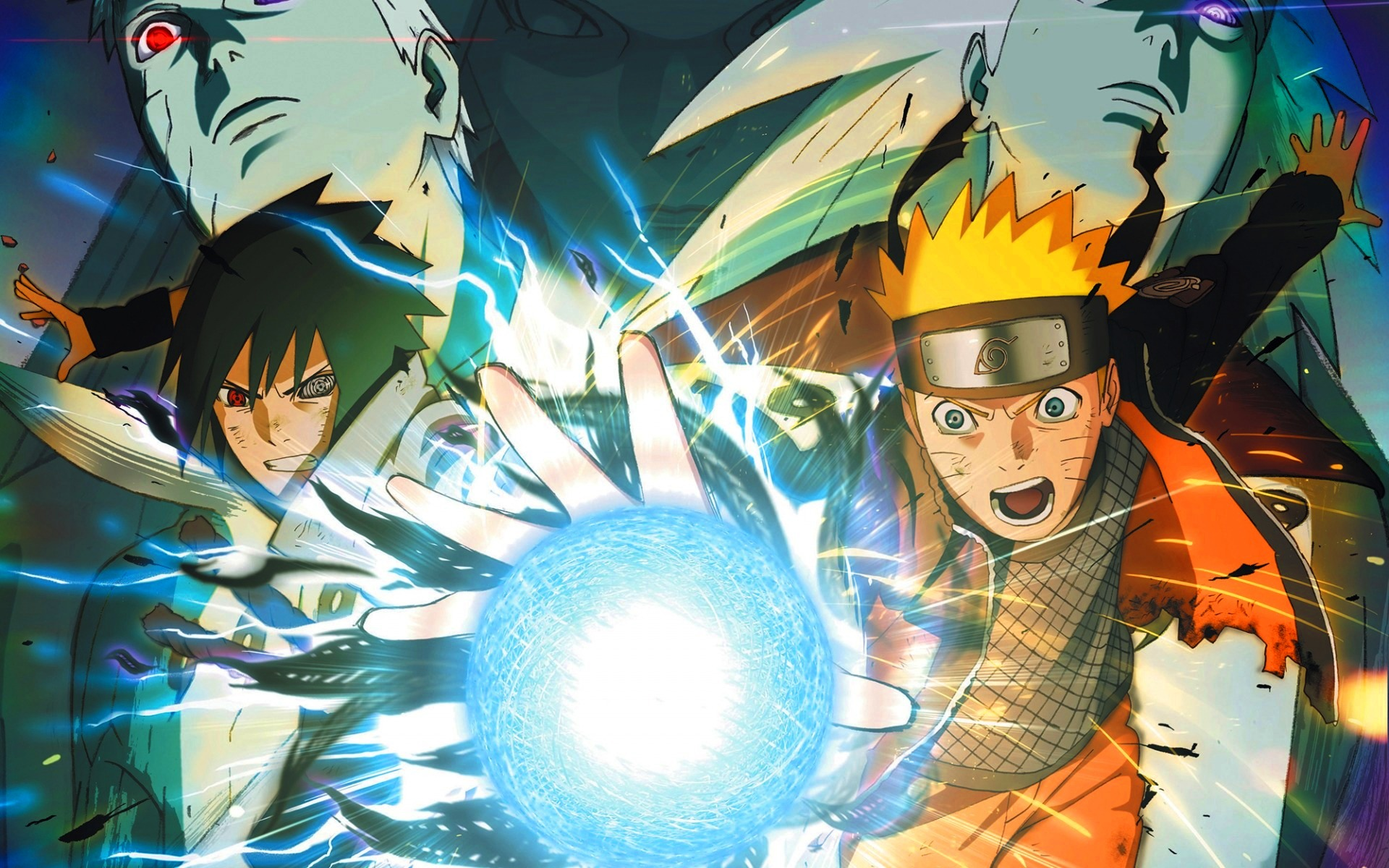 naruto and sasuke clash wallpapers