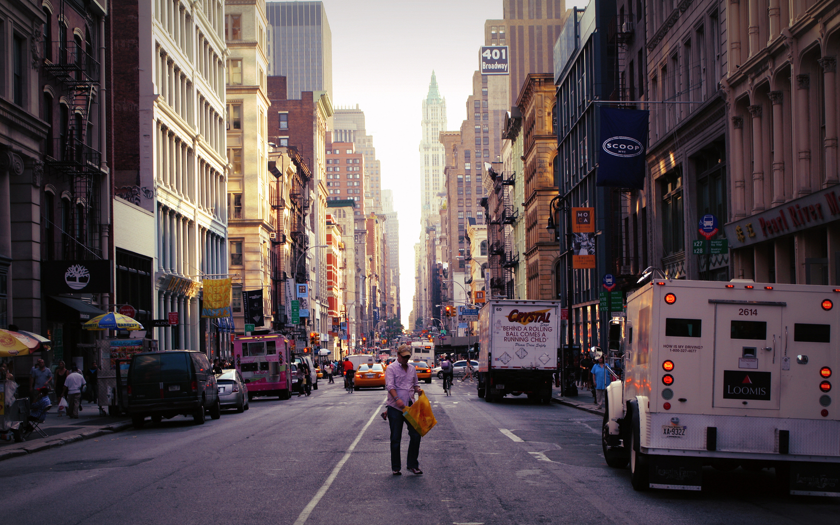 new york city street wallpapers - 1680x1050