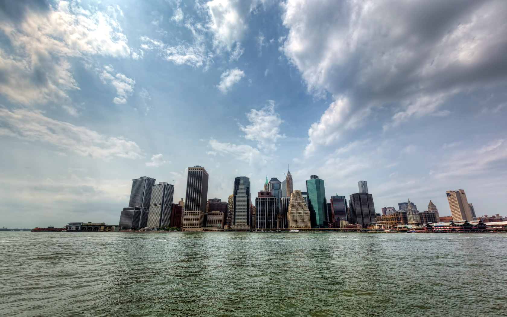 New York Skyline At Day Wallpapers 1680x1050 499216