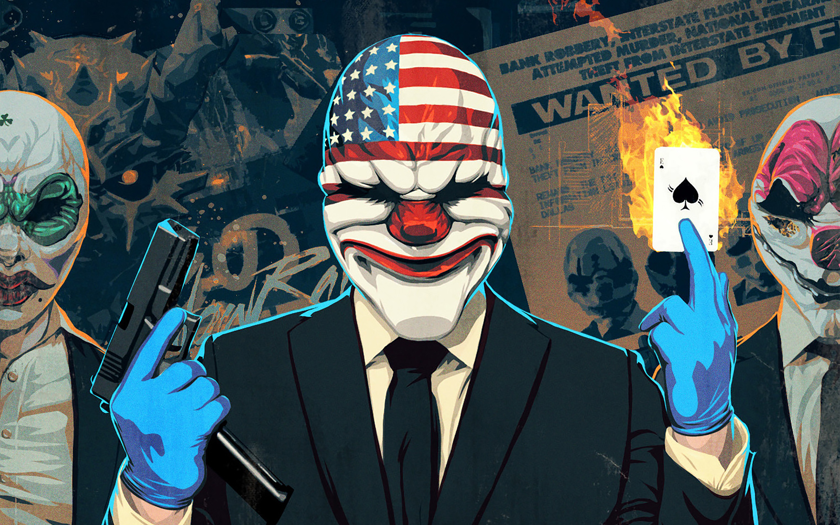 Payday 2 The Big Score Classic Wallpapers 2880x1800 4150865