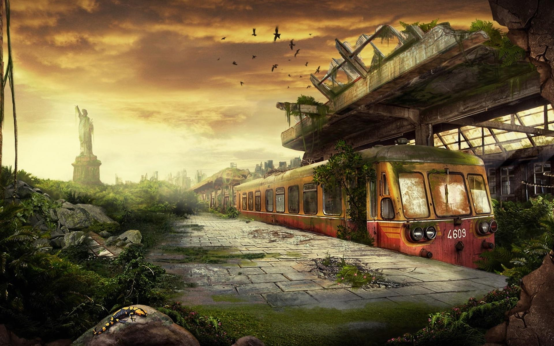 apocalyptic city wallpaper - photo #29