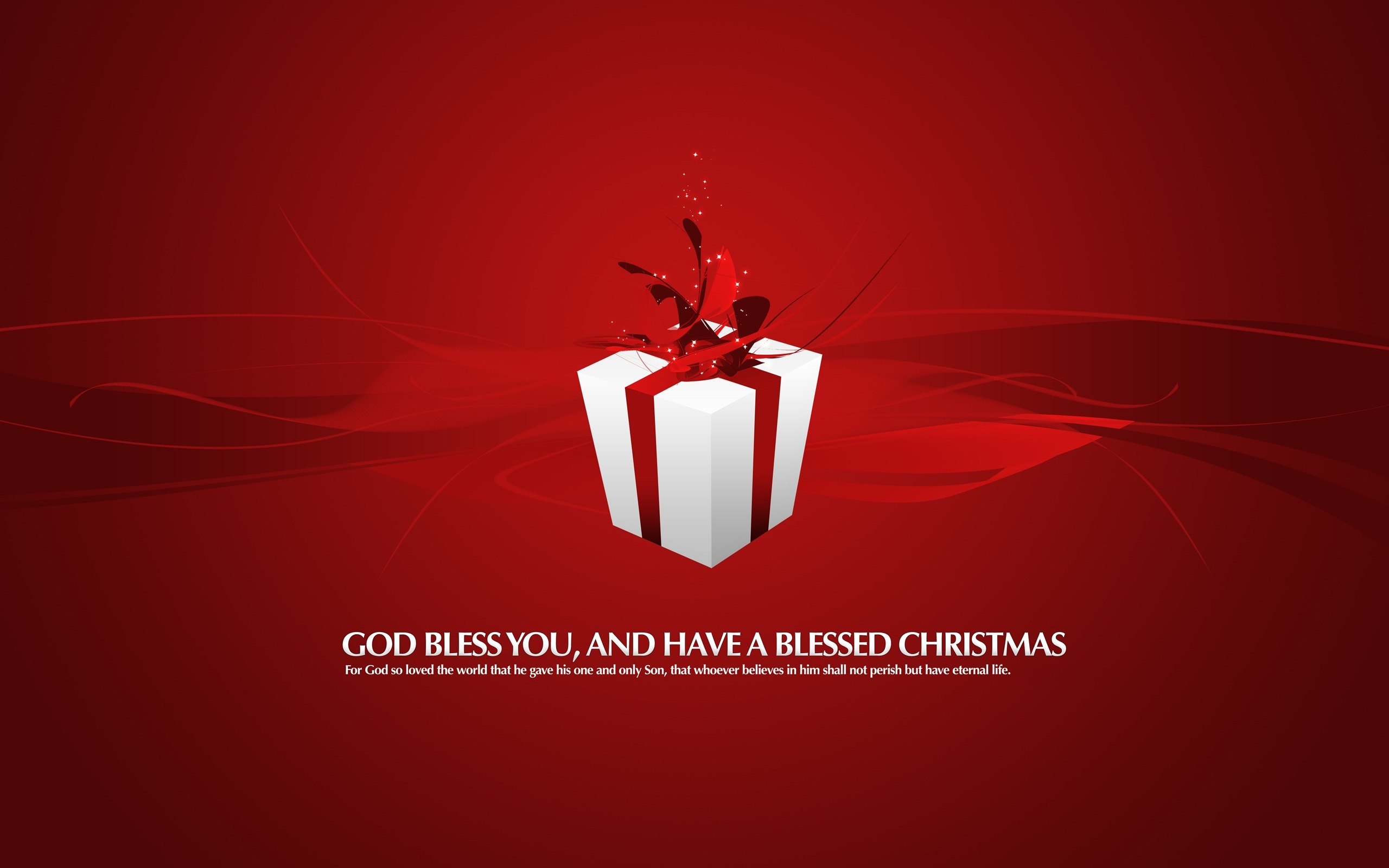 Red present xmas gift wallpapers 2560x1600 284838 red present xmas gift 2560 x 1600 download close negle Choice Image