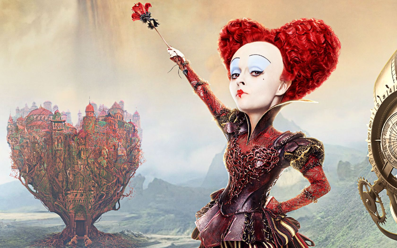 Red Queen Alice Through The Looking Glass Wallpapers 1680x1050