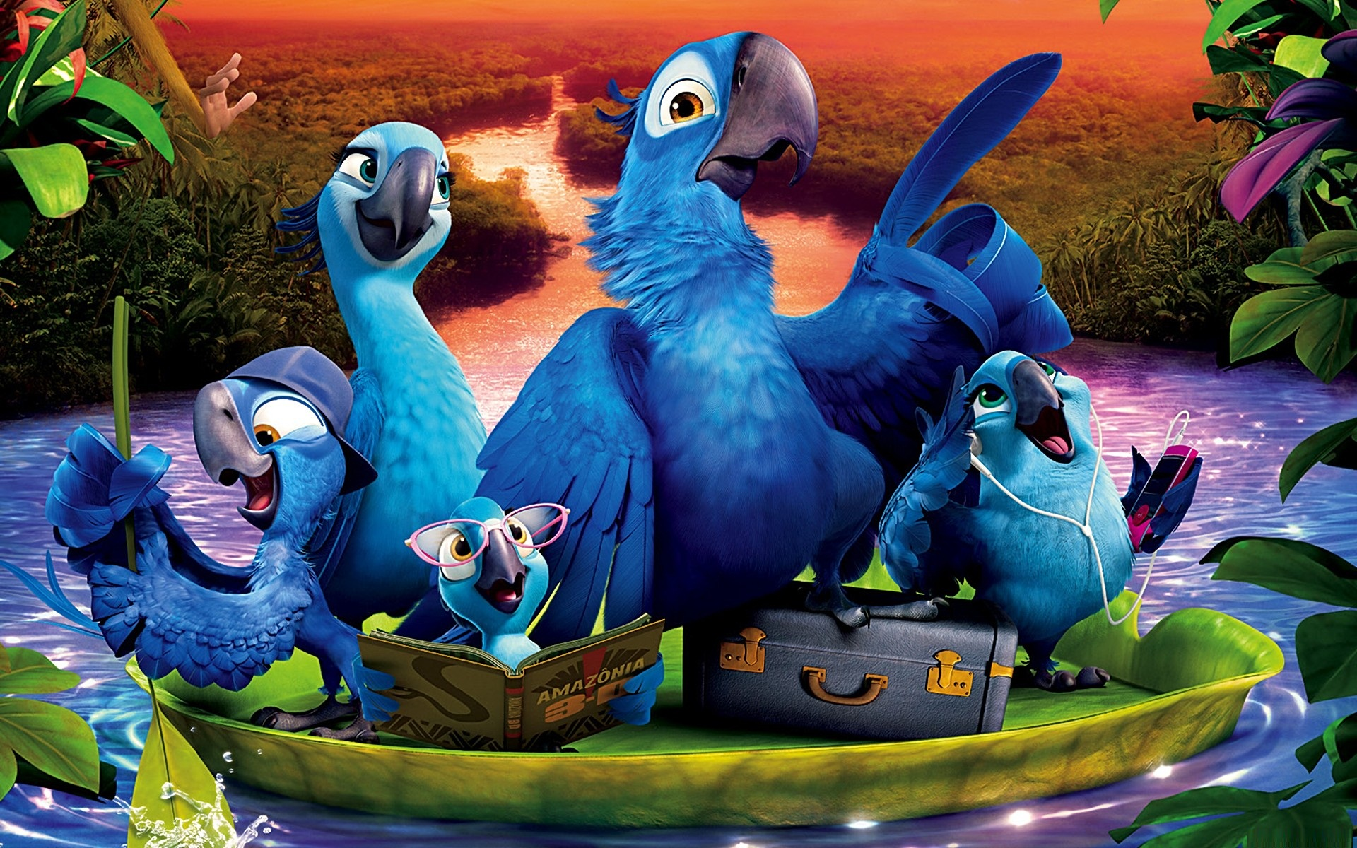 Rio 2 movie still 1920 x 1200 download close