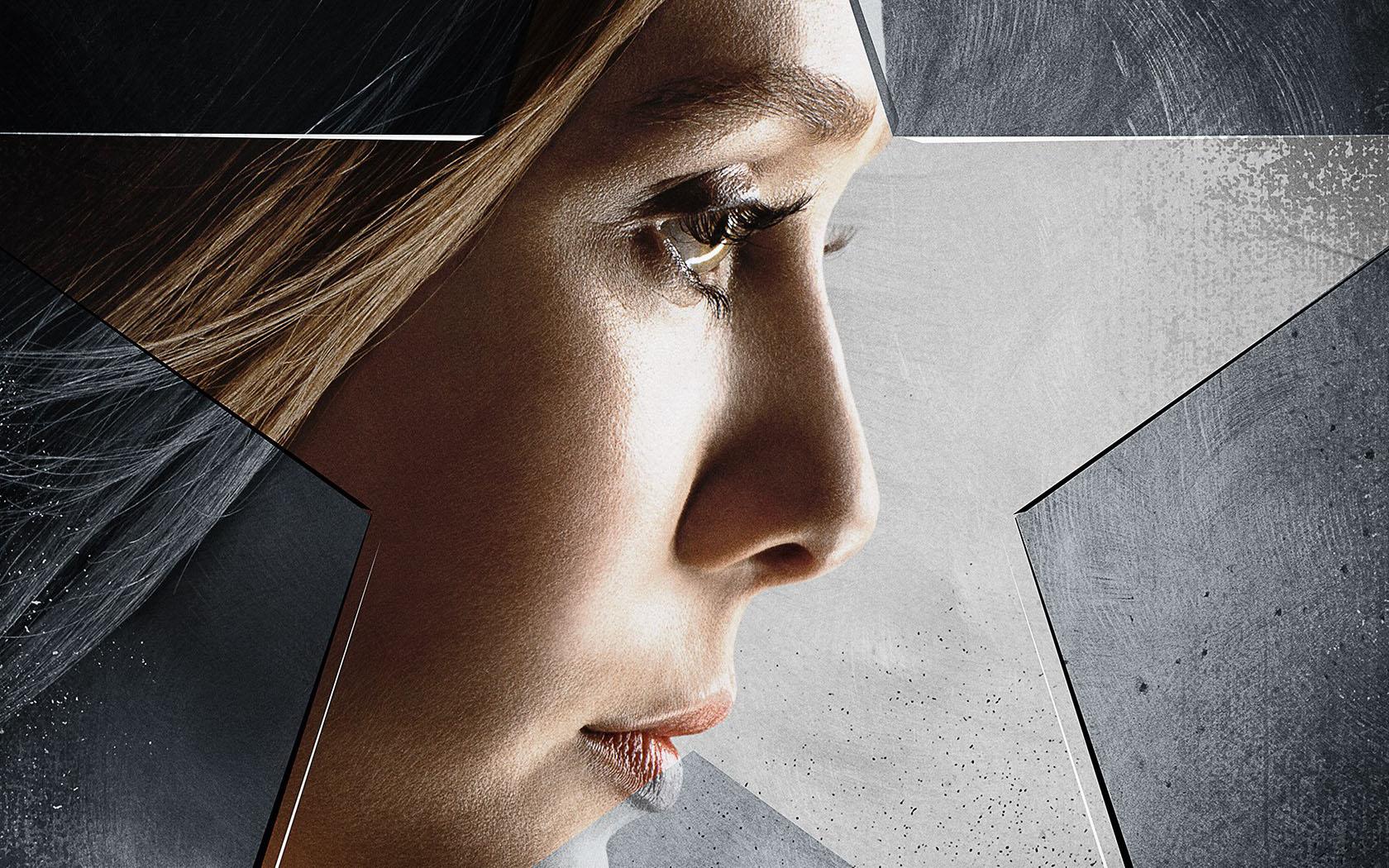 Scarlet Witch As Elizabeth Olsen Captain America Civil War Wallpapers