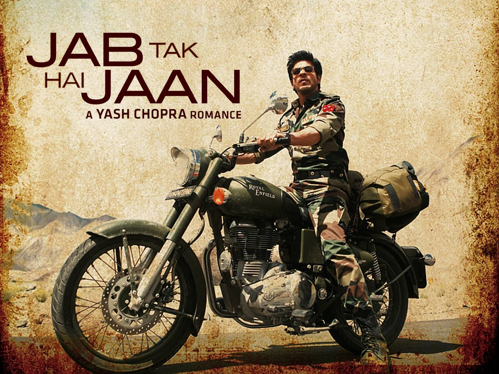 Shahrukh Khan In Jab Tak Hai  Jab Tak Hai Jaan Wallpaper