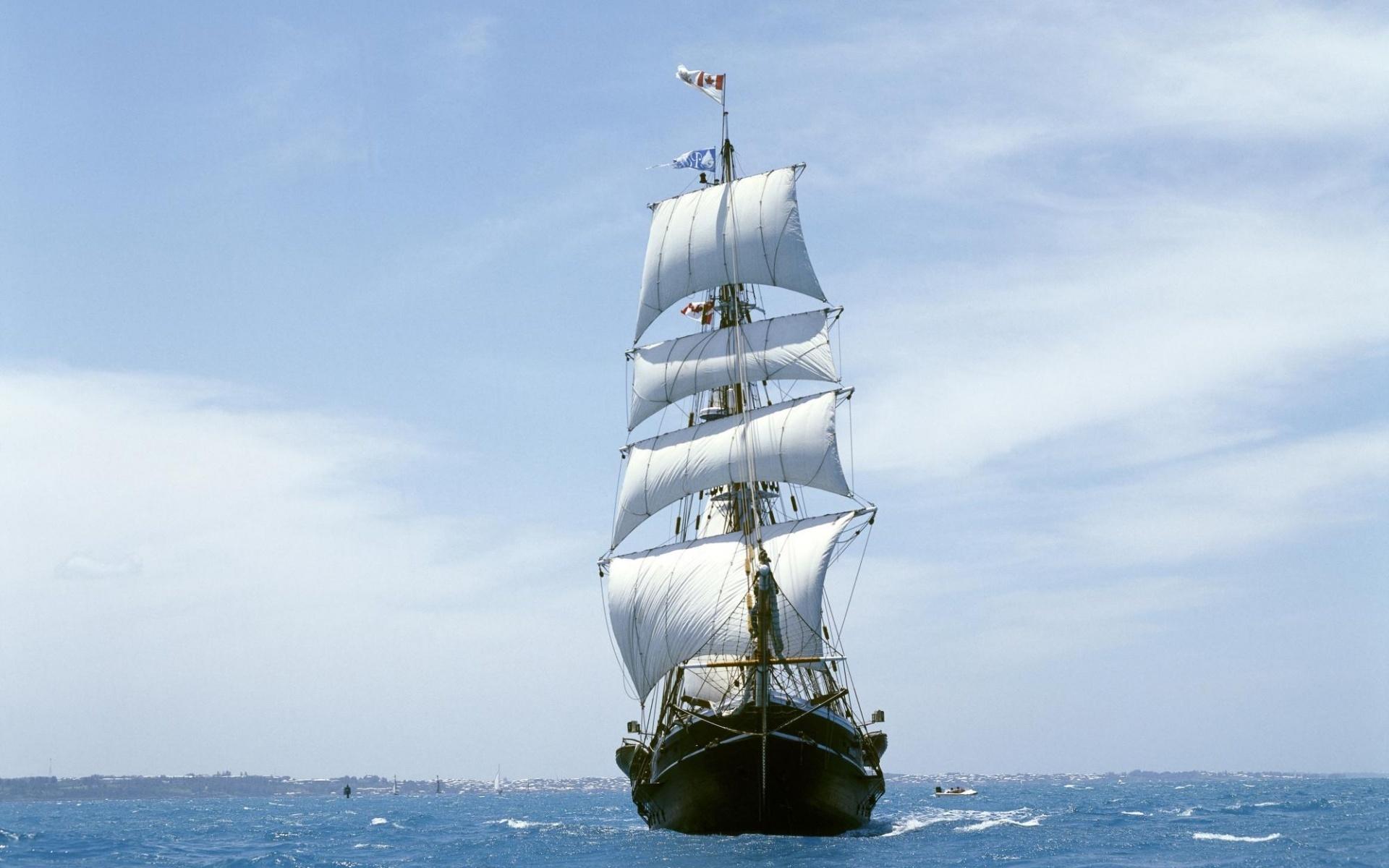 Ship On Sea Wallpapers