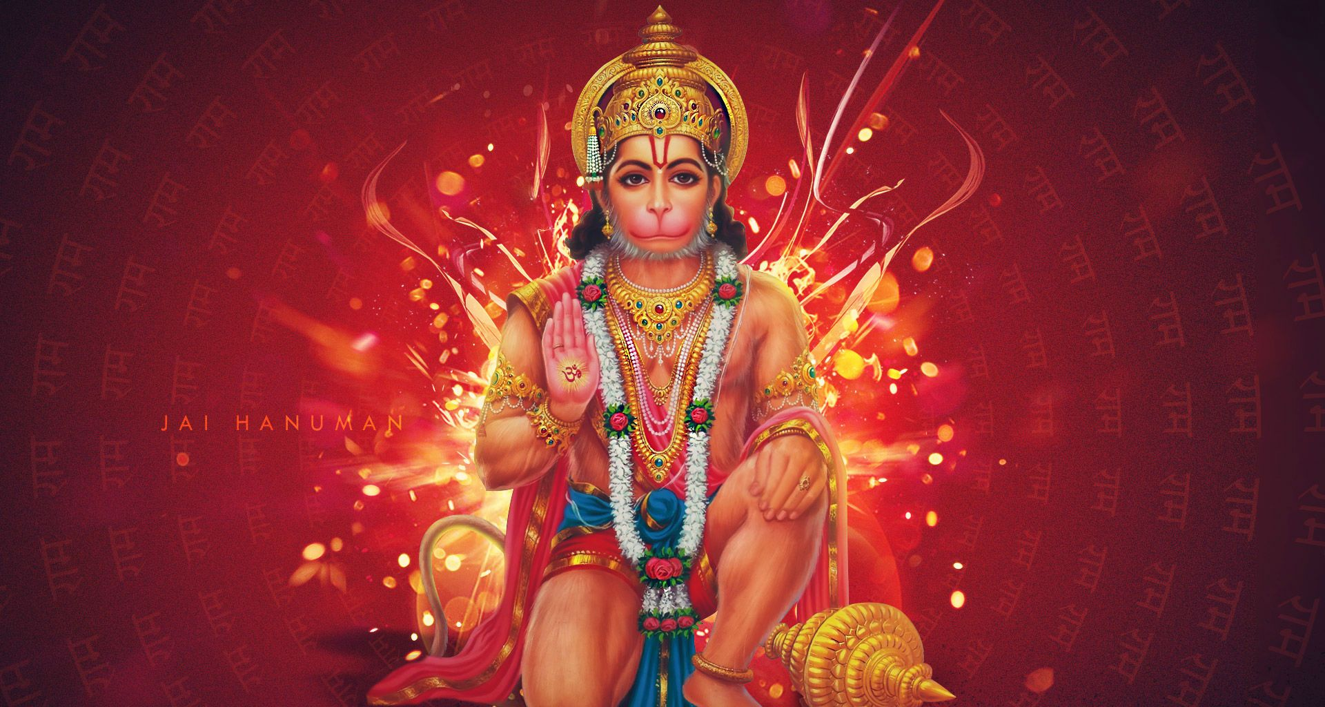Lord Hanuman HD wallpaper for download in laptop and desktop