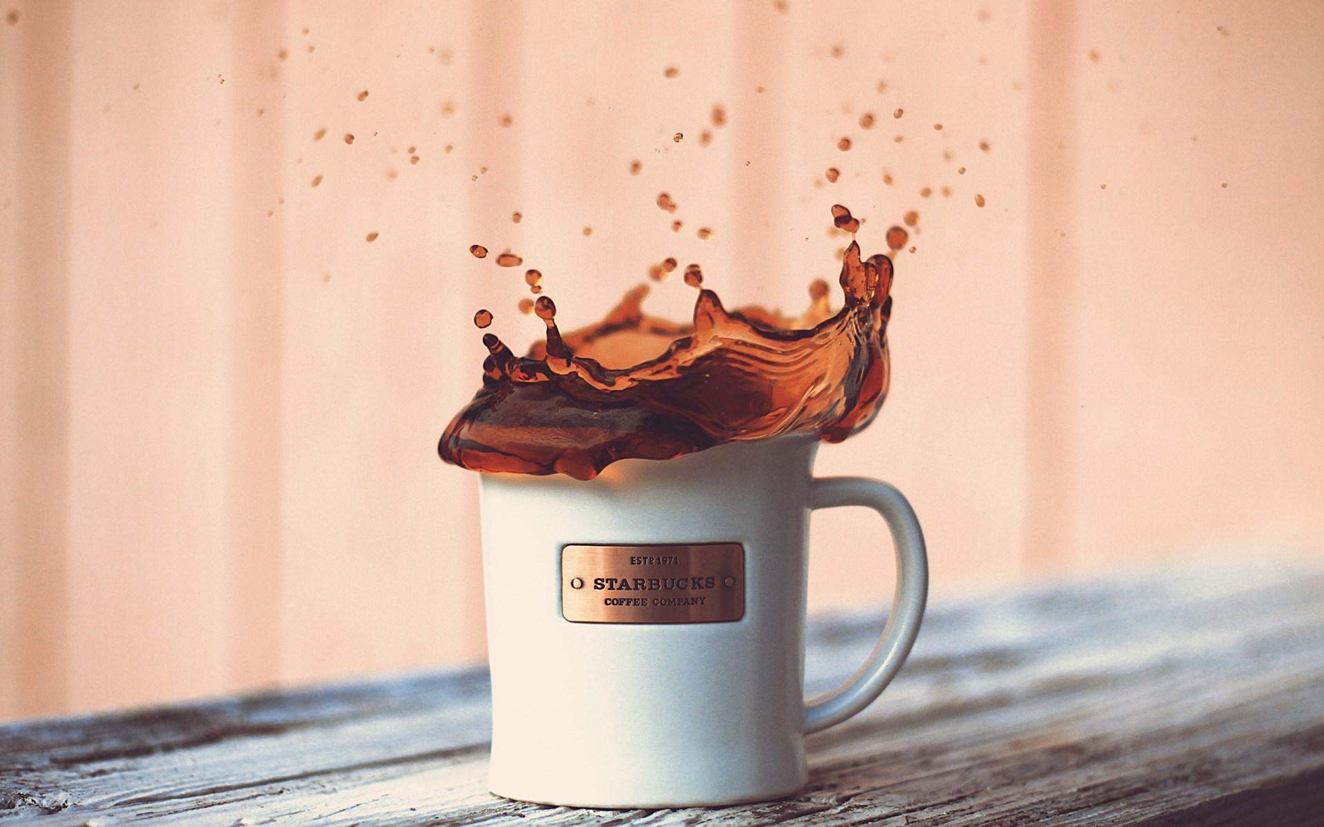 Starbucks Coffee Splash Wallpapers 1920x1200 332542
