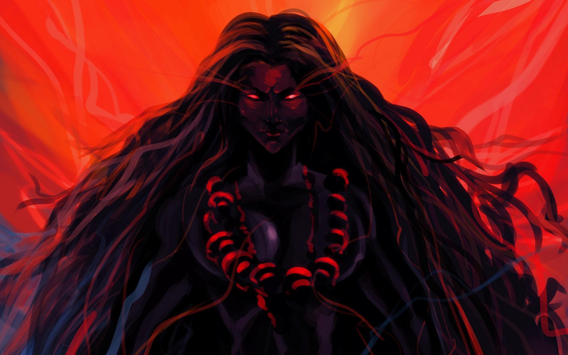 the dark mother goddess kali wallpapers - 1920x1200 - 312101