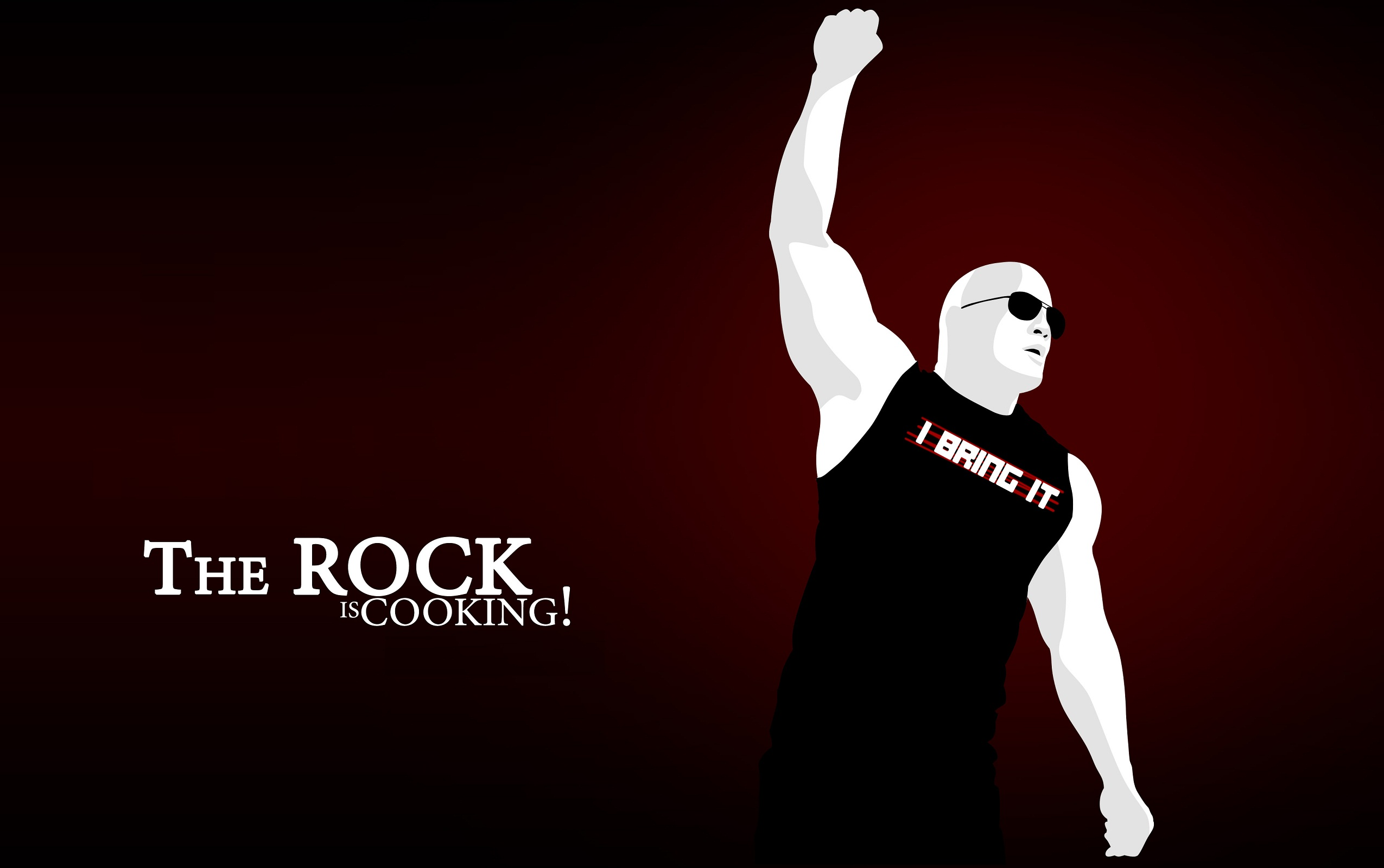 The Rock Is Cooking Click To View