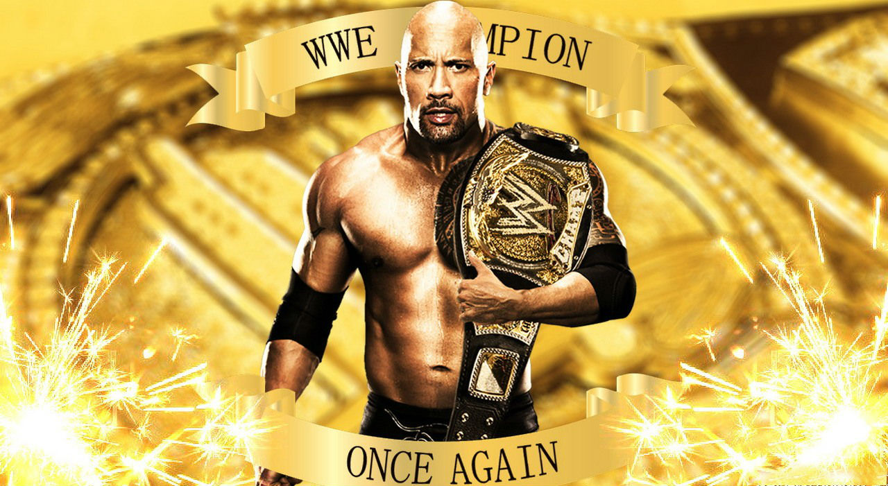 The Rock WWE Champion Wallpapers - 1280x701 - 219653