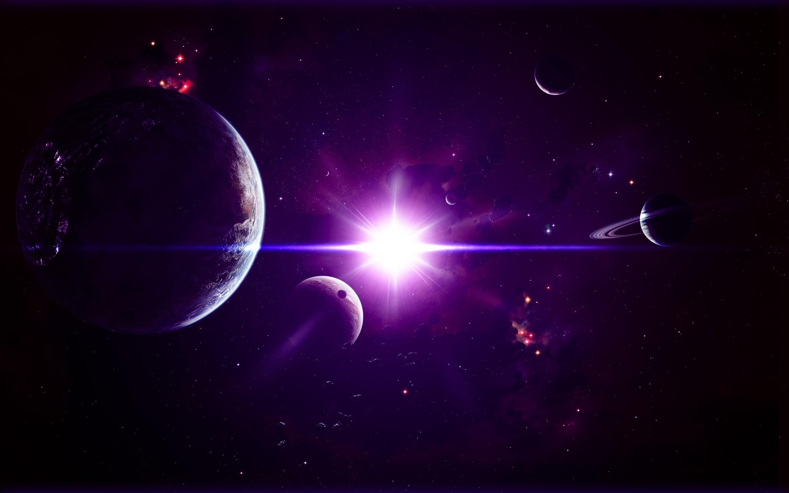 The Universe Planet Light  2560 x 1600  Download  Close