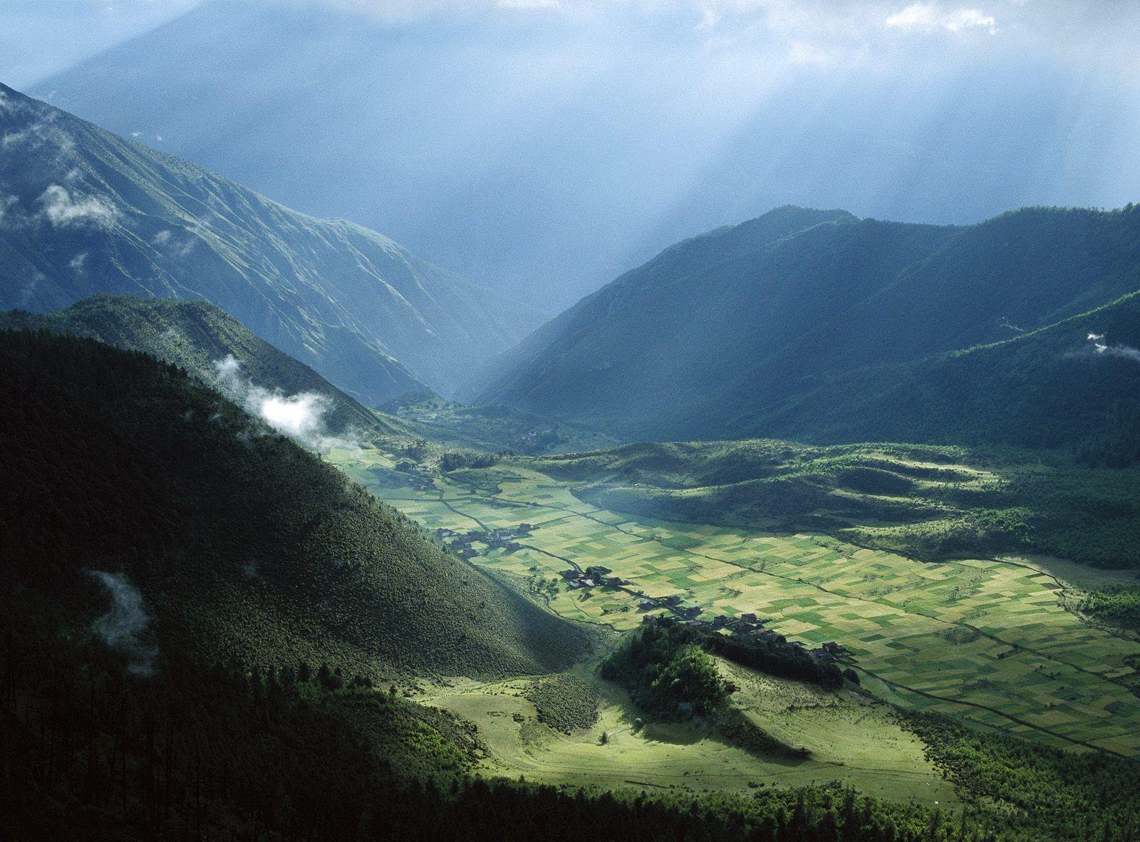 ultimate village in tibet wallpapers - 1600x1182 - 368271