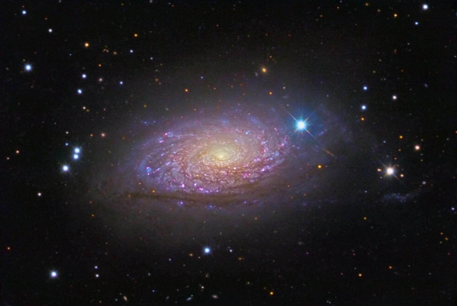 Wallpaper Spiral galaxy Stars HD K Space