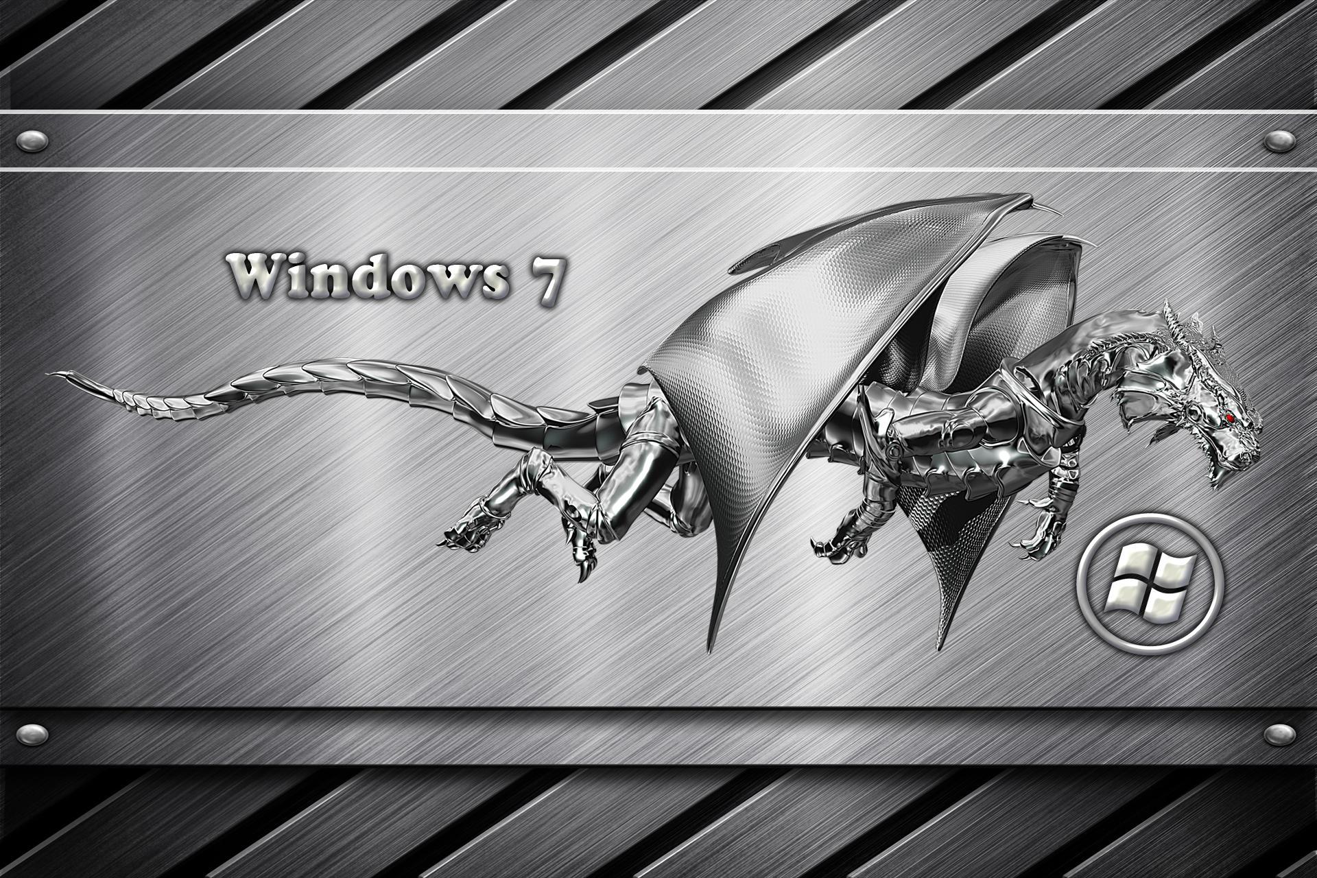 Win 7 Metal Dragon Wallpapers 1920x1280 544435