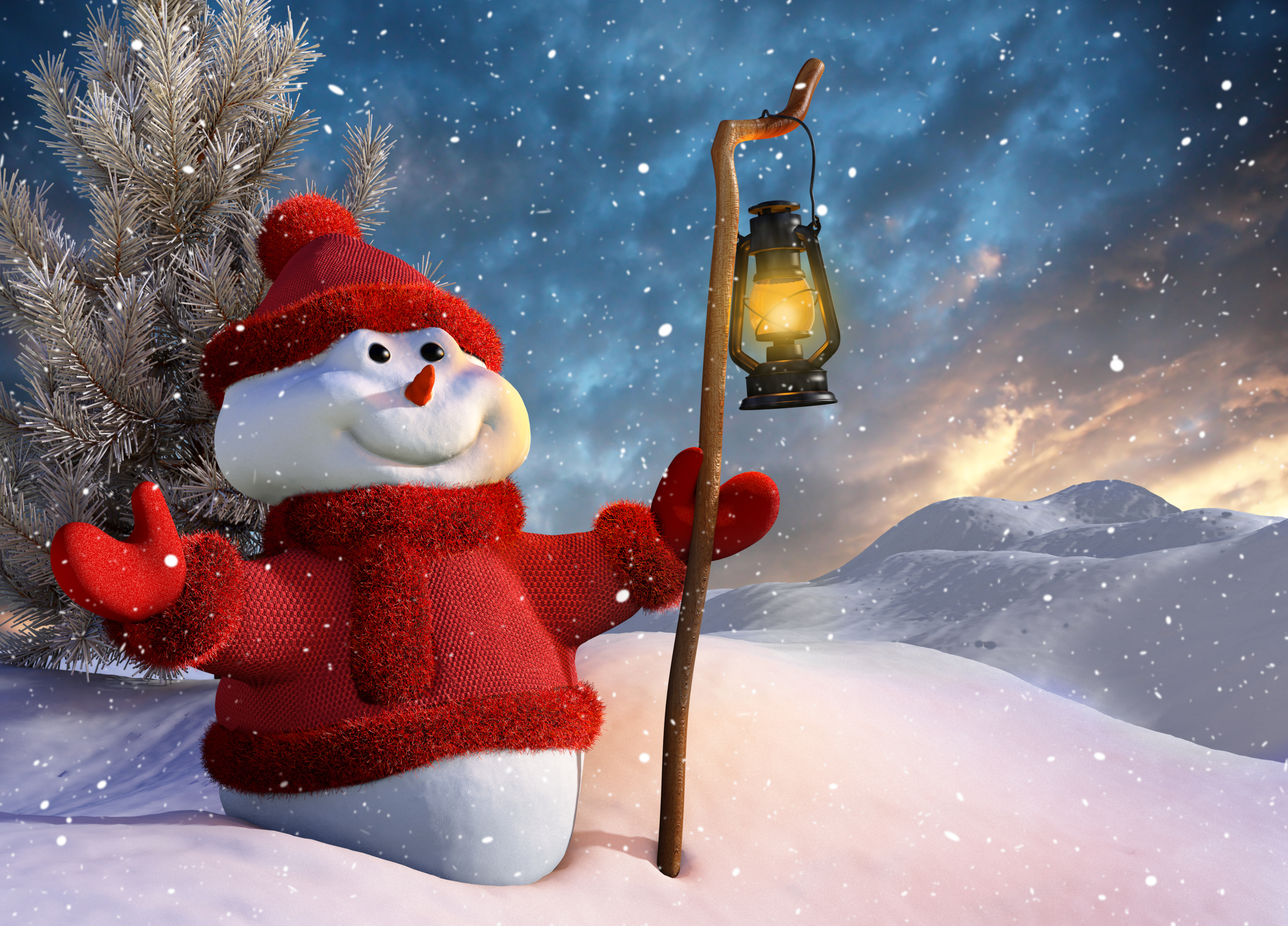 Winter New Year Christmas Wallpapers - 4800x3450 - 6879396