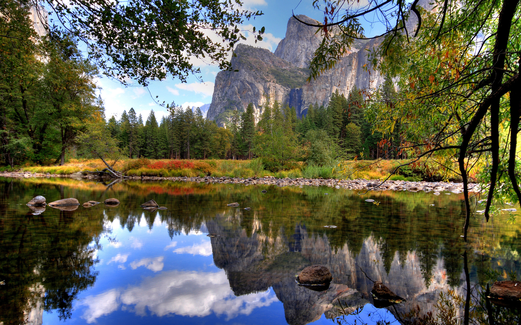 nature wallpapers 1680x1050: Yosemite National Park Wallpapers